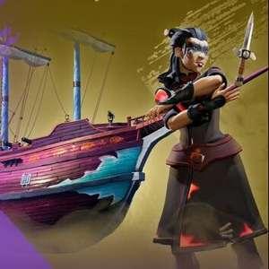 Sea of Thieves - Ruby Splashtail Hull Pack (Xbox / PC) Free @ Amazon Prime Gaming