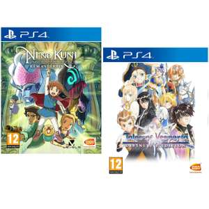 Ni No Kuni Wrath of the White Witch Remastered / Tales of Vesperia: Definitive Edition (PS4) £12.95 each Delivered @ The Game Collection