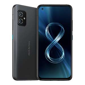 """ASUS Zenfone 8 ZS590KS 5.92"""" FHD+ Mobile 8GB RAM 128GB Storage Android 11, Black - £539.99 With Code (UK Mainland) @ LaptopOutletDirect Ebay"""