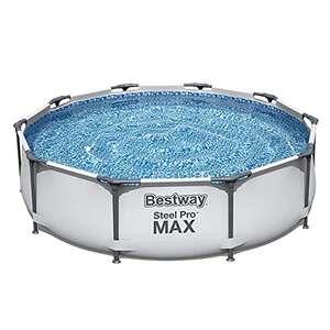 Bestway Swimming Pool Steel Pro MAX 10ft - No Pump - £66 at Amazon
