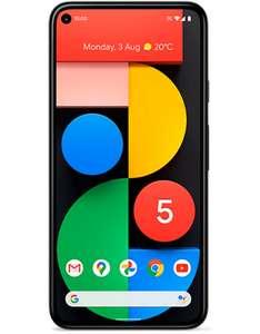 Google Pixel 5 - Snapdragon 765G - 12MP Camera - 128GB Storage - 4080mAh Battery - Ex-Display - @ modaphones eBay