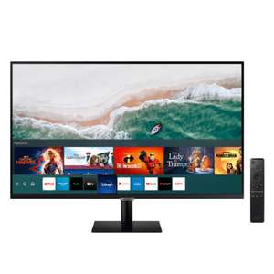 Samsung m70a 32inch smart usb-c 4k monitor with free keyboard and mouse using blue light card or similar £263.20 at Samsung