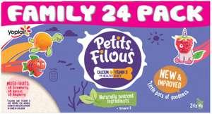 Yoplait Petits Filous Mixed Fruits 24 pack £1.59 @LIDL