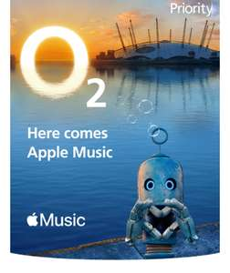 O2 Priority: Get up to 6 months' free Apple Music on Android (account specific)