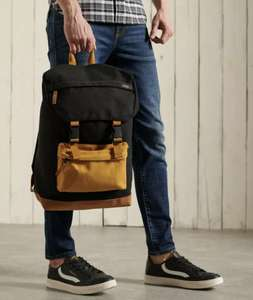 Superdry Mens Toploader Backpack - two colours £21.25 with code Superdry on eBay