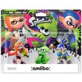 Nintendo Amiibo Splatoon Series 3-Pack (Girl/Squid/Boy) - £22.95 @ The Game Collection
