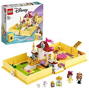 LEGO Disney Princess 43177 Belle's Storybook Adventures Castle £12 (Prime) + £4.49 (non Prime) at Amazon