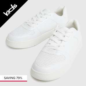 Kids faux leather lace up shoes £4.99 at Schuh - FREE collection in store / £3 delivery