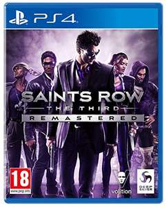 Saints Row The Third Remastered (PS4 with free PS5 upgrade) - £12.90 Prime + £4.49 Non Prime @ Amazon