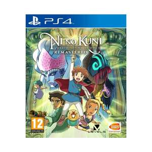 Ni No Kuni Wrath of the White Witch Remastered (PS4) - £9.95 delivered @ The Game Collection