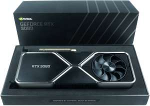 GeForce RTX™ 3080 Founders Edition graphics card £649 at Scan