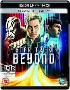 Star Trek Beyond 4K UHD Blu Ray - New and Sealed - £6.70 @ 123DVD_shop / eBay