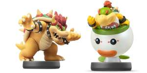 Bowser Junior (No.43) / Bowser (No.20) Smash Series Amiibo £10.99 each @ Nintendo Store