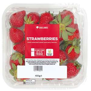 Oaklands British Strawberries 1KG family pack £2.99 @ Lidl Torquay