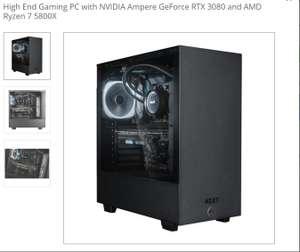 AMD Ryzen™ 7 5800X & EVGA GeForce RTX 3080 Windows Gaming System - £1,949.99 from Scan