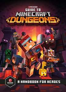 Guide to Minecraft Dungeons Hardcover - £4.99 (+£2.99 Non-Prime) @ Amazon