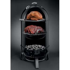 Weber Smokey Mountain Cooker 37cm & Cover £299 - 47cm Version £349 Delivered @ WowBBQ