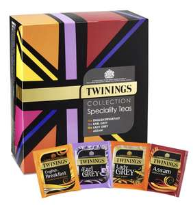 Twinings Collections - 40 Envelopes - £5 (+£3.95) @ Twinings