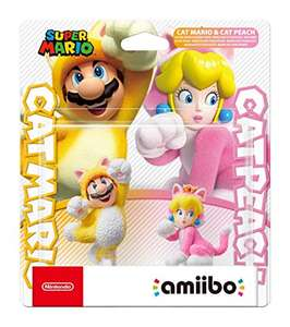 Amiibo Cat Mario and Cat Peach Dual Pack - £21.57 delivered Amazon France