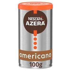 Nescafe Azera Americano Instant Coffee 100G - £2.74 (Clubcard Price) @ Tesco