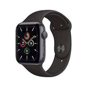 Apple Watch SE GPS, 44mm Space Gray Aluminium Case with Black Sport Band - Regular £249.17 at Amazon
