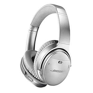 Bose QuietComfort 35 II Noise Cancelling Bluetooth Headphones Silver, £160.46 (UK Mainland) at Amazon Germany