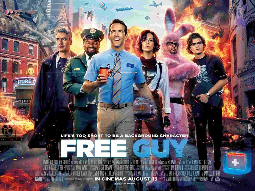 Free Cinema Tickets - Free Guy - Tuesday 10th August - SFF (New different locations added) - hotukdeals