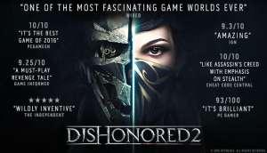 Dishonored 2 (Steam PC) £3.33 @ Gamersgate