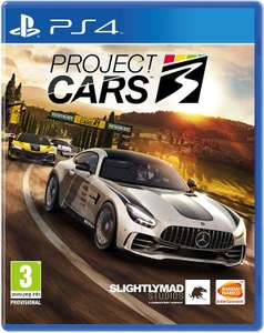 Project Cars 3 (PS4 - £6.80, Xbox - £6.35), Video Game for Playstation 4 inc free delivery Grade A - As new @ SMG