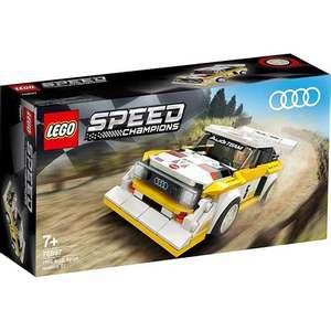 LEGO Speed Champions 76897 1985 Audi Sport Quattro S1 - £9 @ Sainsbury's (Worcester)