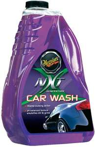 Meguiar's ME G12664 NXT Generation Car Wash 1.8L for hard water area's & pH balanced £9.76 (+£4.49 non-prime) @ Amazon