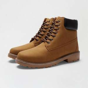 Burton Mens Boots- Tan or Black - £12.35 delivered next day with code @ Burton