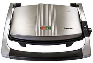 Breville Sandwich/Panini Press and Toastie Maker, Stainless Steel [VST025] £25 @ Amazon