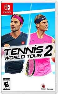 Tennis World Tour 2 [Nintendo Switch] - £22.44 (UK Mainland) @ Amazon sold & dispatched by Amazon US