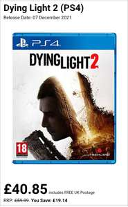 Dying light 2 PS4 ( Pre order ) Free upgrade to PS5 - £40.85 @ Base