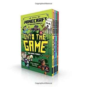 Minecraft: Into the Game – The Woodsword Chronicles 4 book Collection Paperback £12.49 @ Amazon