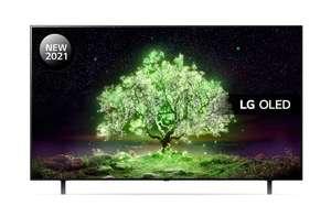 LG OLED48A16LA & LG TONE Free FA4 48 inch OLED 4K Ultra HD HDR Smart TV&In Ear Mic Wireless Headphones £899 (VIP Price) @ Richersounds