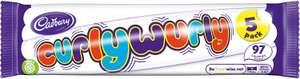 Cadbury Curly Wurly Chocolate Bar, 5 Pack - 83p @ Amazon (+£4.49 Non-Prime)