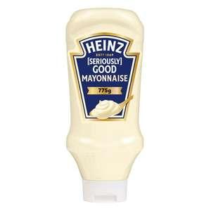 Heinz Squeezy Mayo 775g clearance @ Sainsbury's Darnley