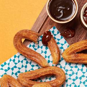 Free Churros with dulce de leche or chocolate sauce - exam results students (A levels / GCSE) until 12th August @ Las Iguanas