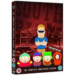South Park - The Complete Season 19 dvd £2.62 delivered @ atticdiscoveryshopmedia / ebay (Buy 1 get 1 at 50% off)