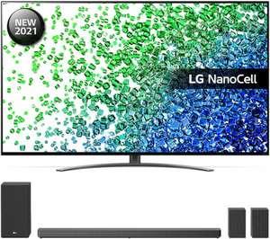 """LG 75NANO816PA 75"""" Smart 4K Ultra HD HDR LED TV & FREE SN11 7.1.4 Wireless Sound Bar Bundle Free 5 Year Guarantee - £1399 @ Currys PC World"""