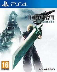 Final Fantasy VII Remake (PS4 / PS5 upgrade) £20 Delivered @ Amazon