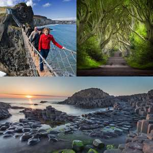 Giant's Causeway, Carrick-A-Rede Rope Bridge and Dark Hedges Day Tour for two £21.25 using code @ Groupon / Ulster Tours