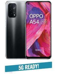 OPPO A54 + ID Mobile Unlimited Data Sim - £20.99 a month for 24 months via Carphone Warehouse