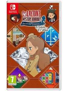 Layton's Mystery Journey: Katrielle and the Millionaires' Conspiracy Nintendo Switch - Customer return £18 del (UK Mainland) @ ElekDirect