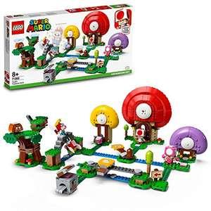 LEGO Super Mario 71368 Toad's Treasure Hunt Expansion Set £39.99 delivered at Amazon