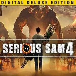 PC Serious Sam 4 Deluxe Edition At Gamesplanet - £15.92