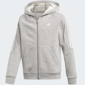 Kids adidas Outline Hoodie - Grey Heather / White - £14.68 Delivered Using Code + Free Delivery Via The Creators Club (Free) @ adidas