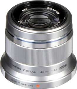Olympus M.Zuiko digital 45mm f1.8 (second hand) includes postage £120 @ CeX